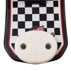 Gold Cup Power Slider - Oval - White - Skateboard Accessory