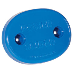 Gold Cup Power Slider - Oval - Blue- Skateboard Accessory