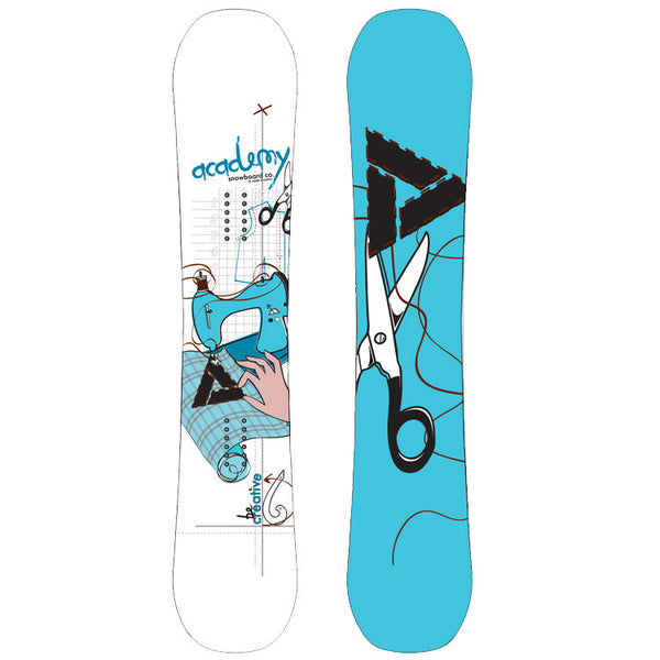 Academy Serenity Reverse Camber 2011 Women's - 146cm Snowboard