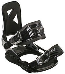Lamar MX100 09 - Youth Boys Black Snowboard Bindings