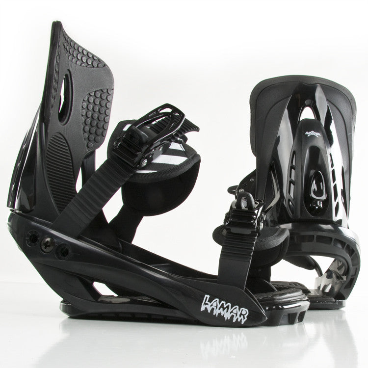 Lamar V1 2010 - Youth Black Snowboard Bindings