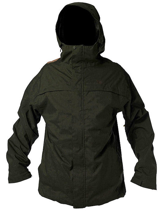 DC Amo 2010 - Olive Night - Snowboarding Jacket - Small