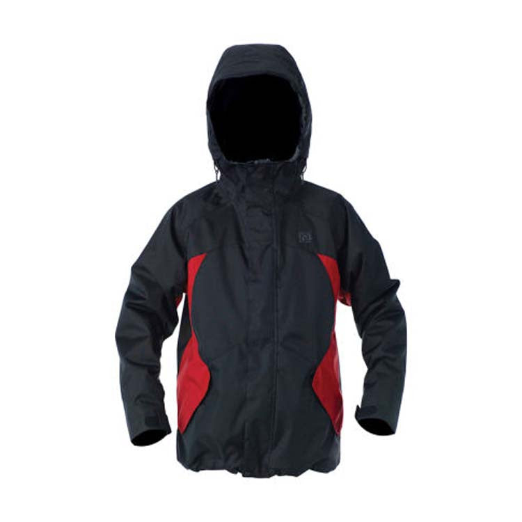 DC Amo 2011 - Black / Athletic Red - Snowboarding Jacket