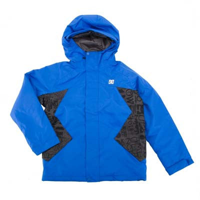 DC Amo 2011 - Blue / Black - Youth Sized Snowboarding Jacket