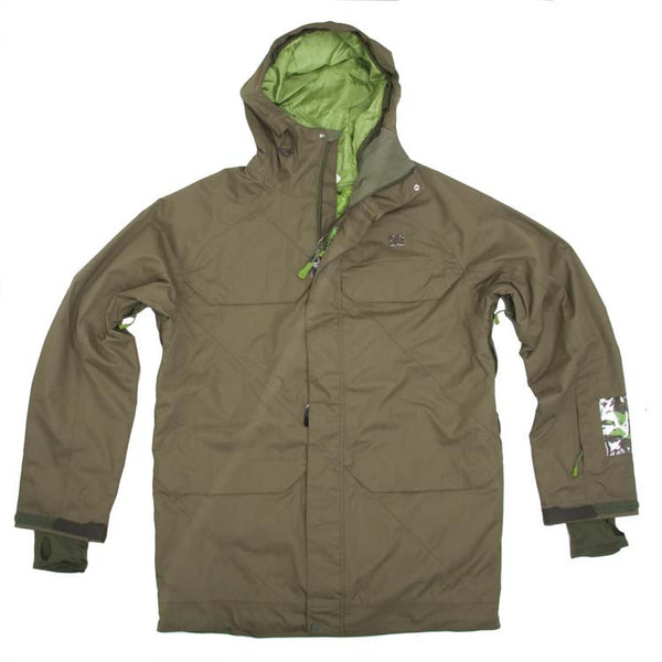 DC Nevado 2011 - Olive Night - Snowboarding Jacket