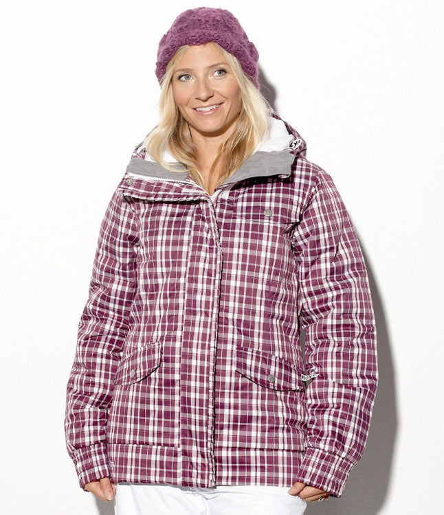 Roxy Wagon - Berry White - Snowboarding Jacket - Large