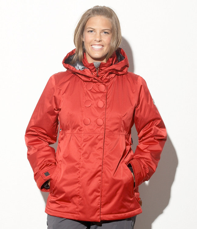 Roxy Torah Bright - Red - Snowboarding Jacket