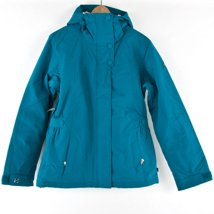 Roxy Corvette Solid - Chicory Blue - Snowboarding Jacket