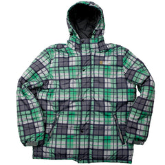 Special Blend Line 2010 - Grey Thugby Plaid - Snowboarding Jacket - Large