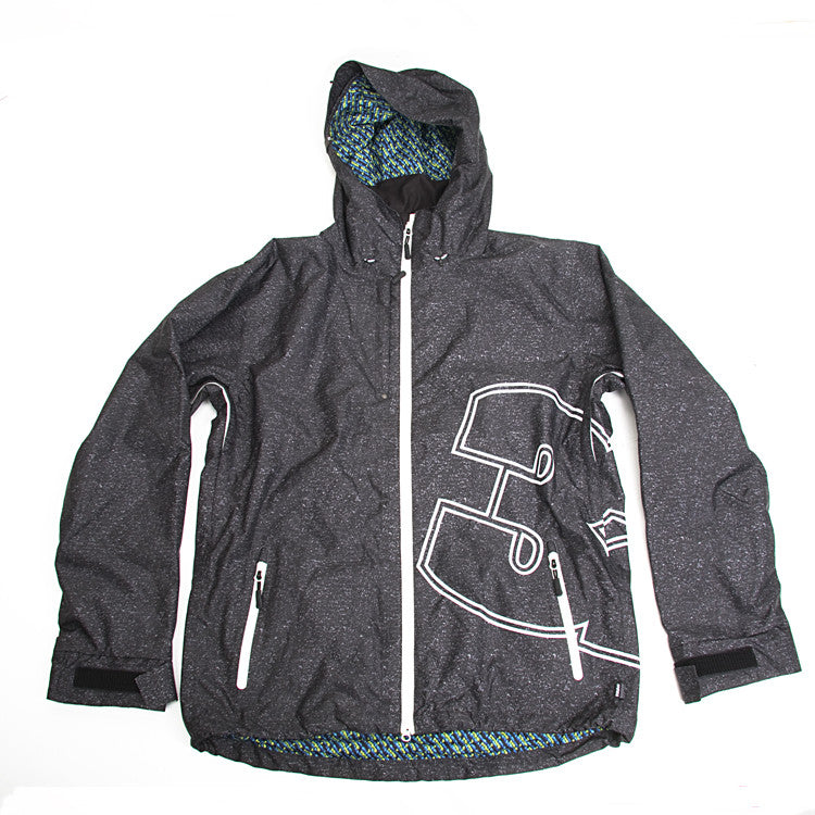 ThirtyTwo Shiloh - Black / White - Snowboarding Jacket
