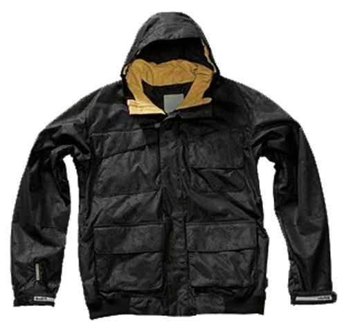 Planet Earth Hammer Pro - Black - Snowboarding Jacket
