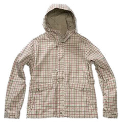 Planet Earth Fawn - Light Khaki Plaid - Snowboarding Jacket