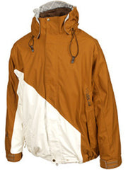 Volcom Exclusion 2008 - Bronze / White - Snowboarding Jacket