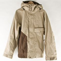 Volcom Assault Hybrid - Khaki / Brown - Snowboarding Jacket - Small