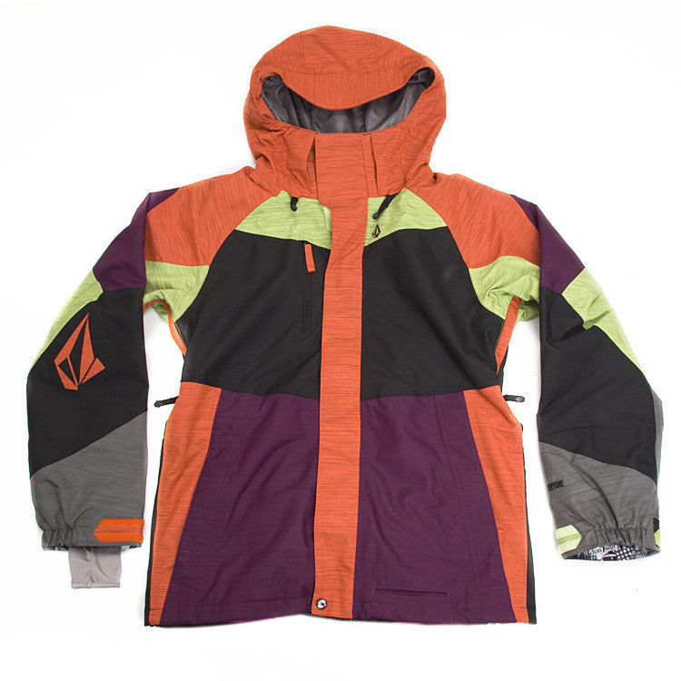 Volcom Soap Stone 2011 - Orange - Snowboarding Jacket