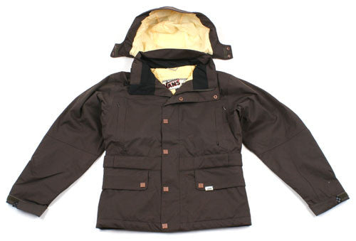 Vans Zissou Insulated - Turkish Brown - Snowboarding Jacket - Small