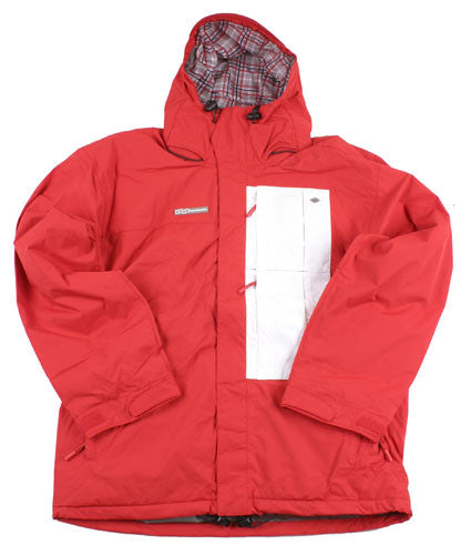 Four Square Cruz - Red - Snowboarding Jacket - Medium