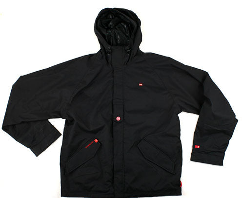 Four Square Fabian - Black - Snowboarding Jacket - Large