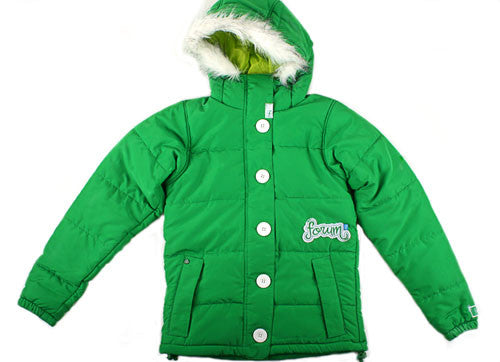 Forum Spree - Kelly Green - Snowboarding Jacket - Large