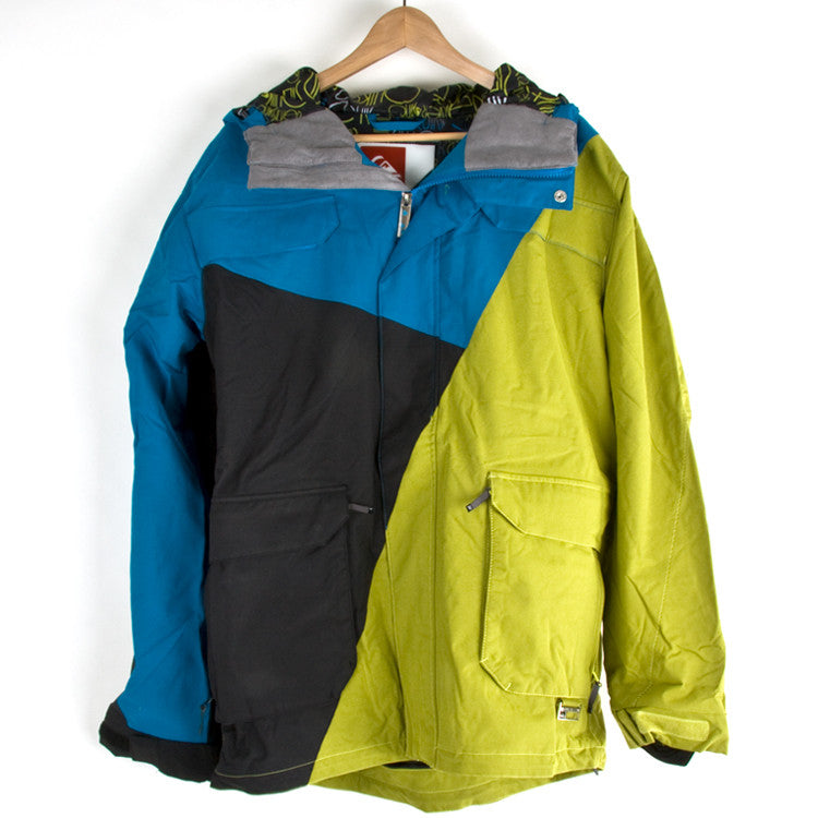 Quiksilver Animal Drums - Blue - Snowboarding Jacket