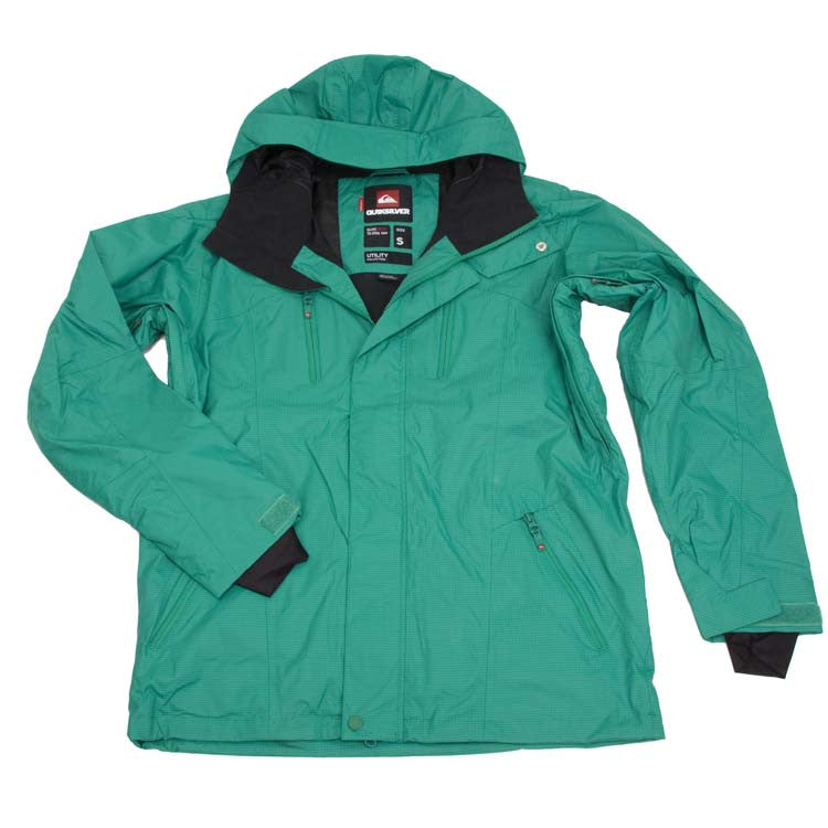 Quiksilver Trinity Shell - Green - Snowboarding Jacket