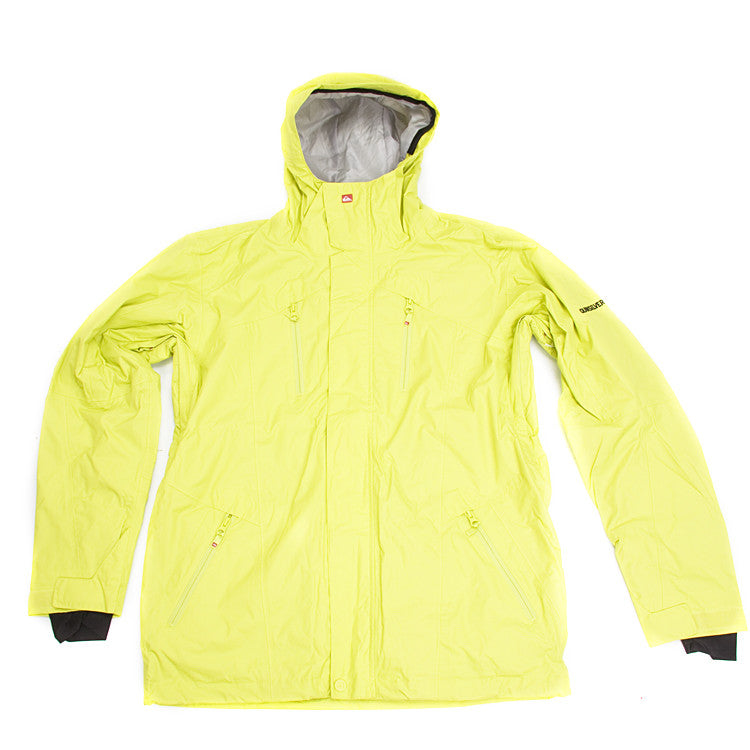 Quiksilver Trinity Shell - Yellow - Snowboarding Jacket