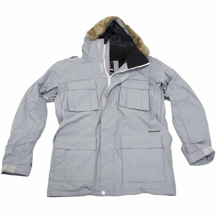 Quiksilver I Was There - White - Snowboarding Jacket