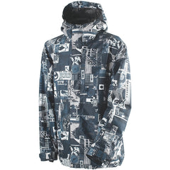 Rome DSK - Men's Snowboarding Jacket - Collage - Large