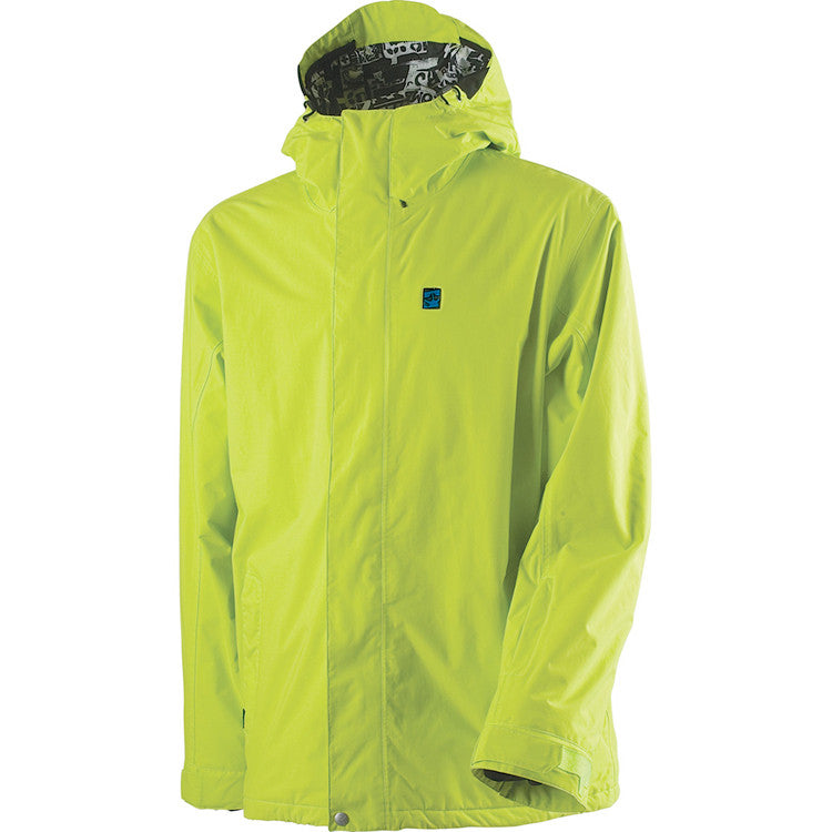 Rome DSK - Acid Green - Snowboarding Jacket - Large