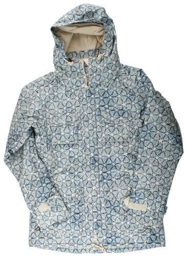 Holden BP - Canvas Lotus Print - Snowboarding Jacket - Large