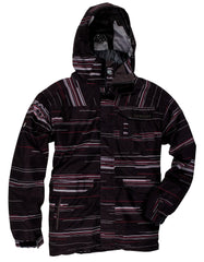 686 Command - Black Stripe - Snowboarding Jacket - X Large