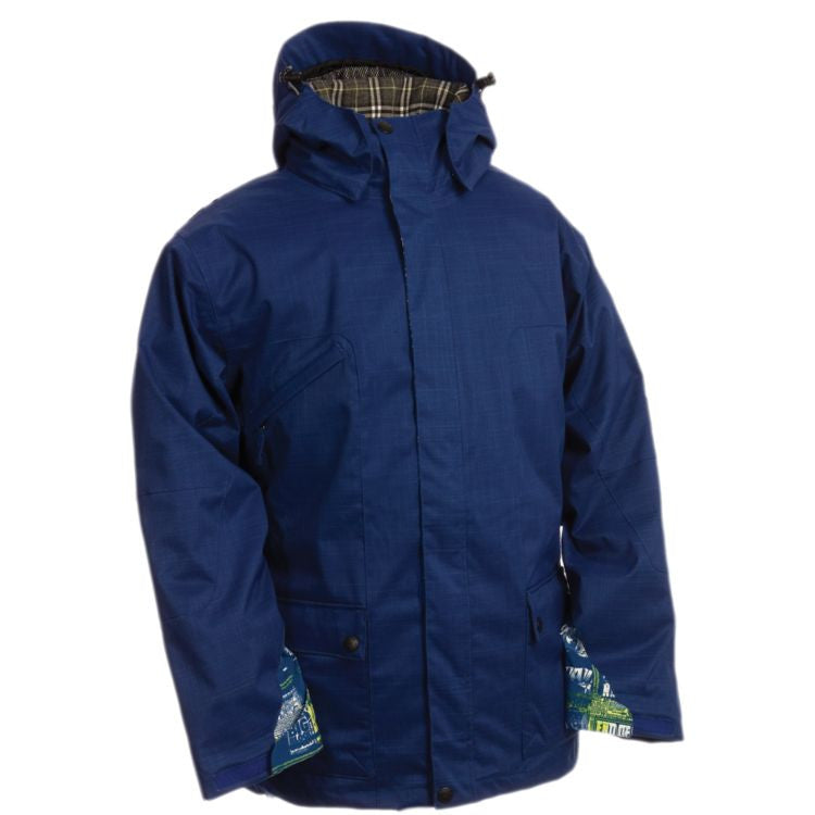Ride Ballard - Blue - Snowboarding Jacket