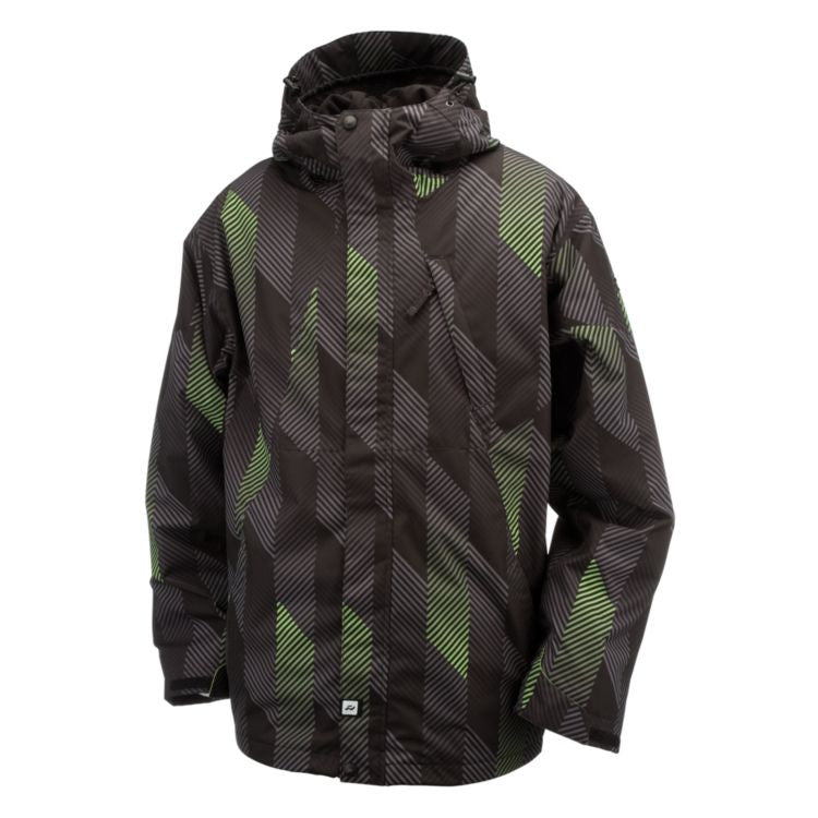 Ride Gatewood 2011 - Chevron Print - Snowboarding Jacket