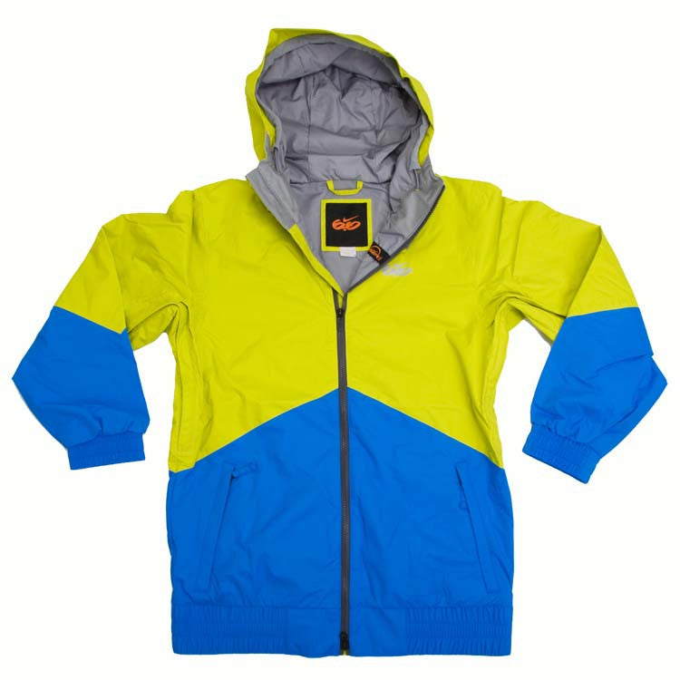 Nike 6.0 Kampai - Bright Cactus / Photo Blue - Snowboarding Jacket - X Large