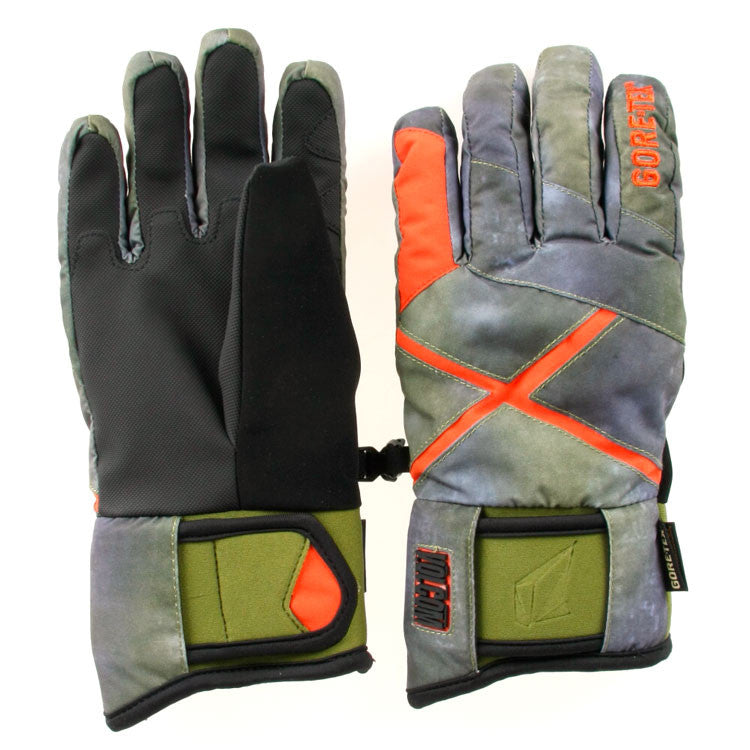 Volcom X-Wing Gore-Tex - Environment Military Storm - Men's Gloves