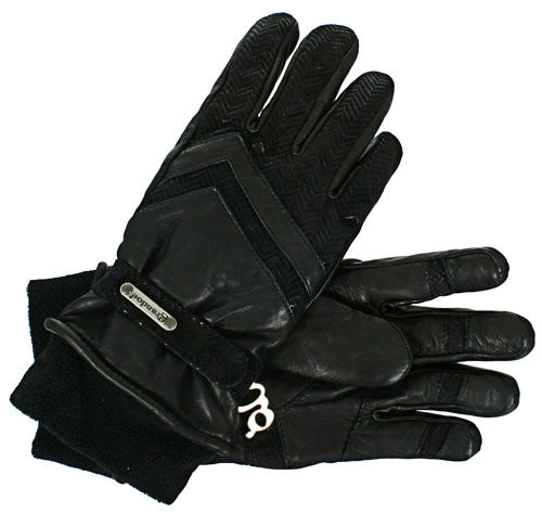 Grandoe Gretchen - Black / Black - Women's Gloves - Large