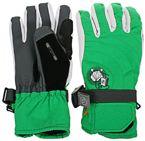 Defcon Detonator - Kelly Green - Men's Gloves - X Small