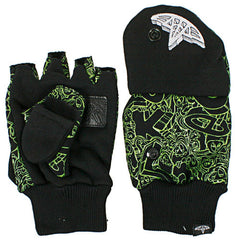 Celtek Outbreak Bum - Black - Men's Gloves - Small