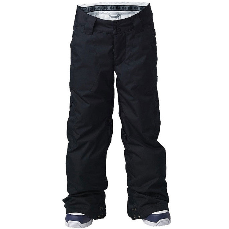 DC Banshee 2010 - Youth Snowboarding Pants - Black