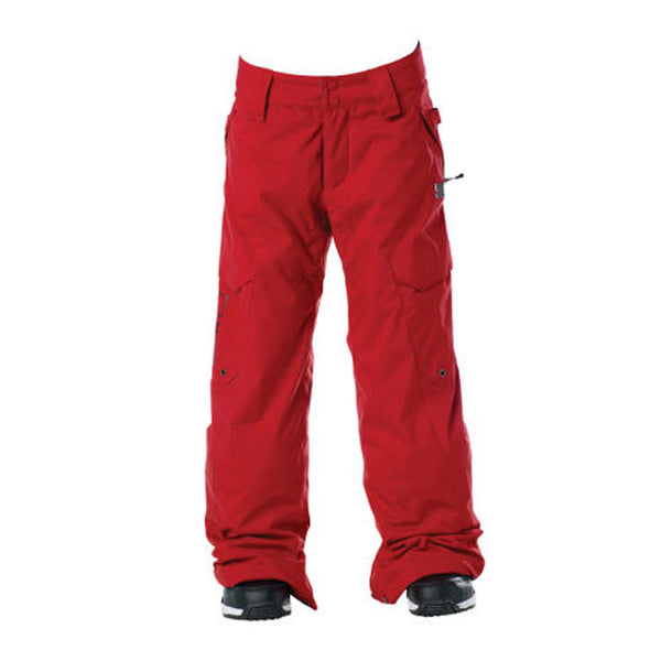 DC Banshee K 2011 - Kids Snowboarding Pants - Athletic Red