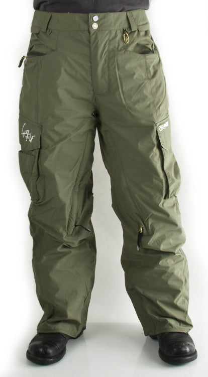 Volcom Gigi Ruf 2010 - Men's Snowboarding Pants - Military