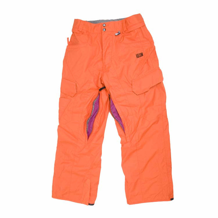 Volcom Throttle 2011 - Men's Snowboarding Pants - Orange