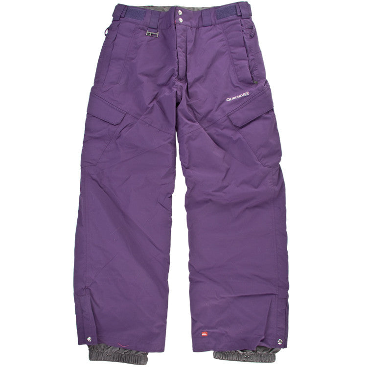 Quiksilver Scorps Solid - Men's Snowboarding Pants - Purple