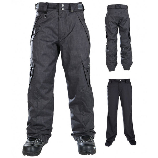 686 OG - Youth Snowboarding Pants - Gunmetal - Youth Medium