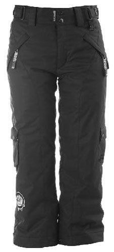 Ride Charger - Men's Snowboarding Pants - Black - Small