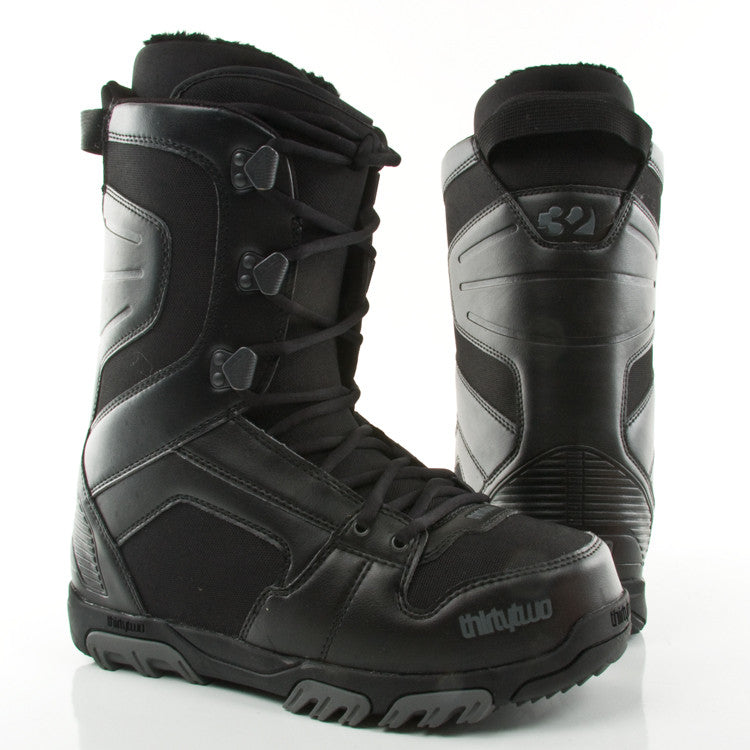 ThirtyTwo Prion 2010 - Men's Black / Grey Snowboard Boots