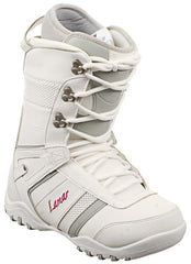 Lamar Justice 09 - Women's White / Grey Snowboard Boots