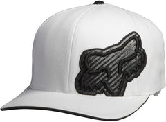 Fox Carbonation Flexfit Hat - White - Men's Hat