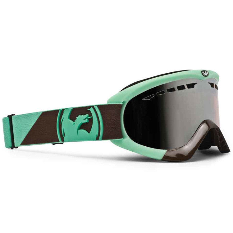 Dragon DX 2011 - Angle Teal Brown Frame / Ionized Lens - Snowboard Goggles
