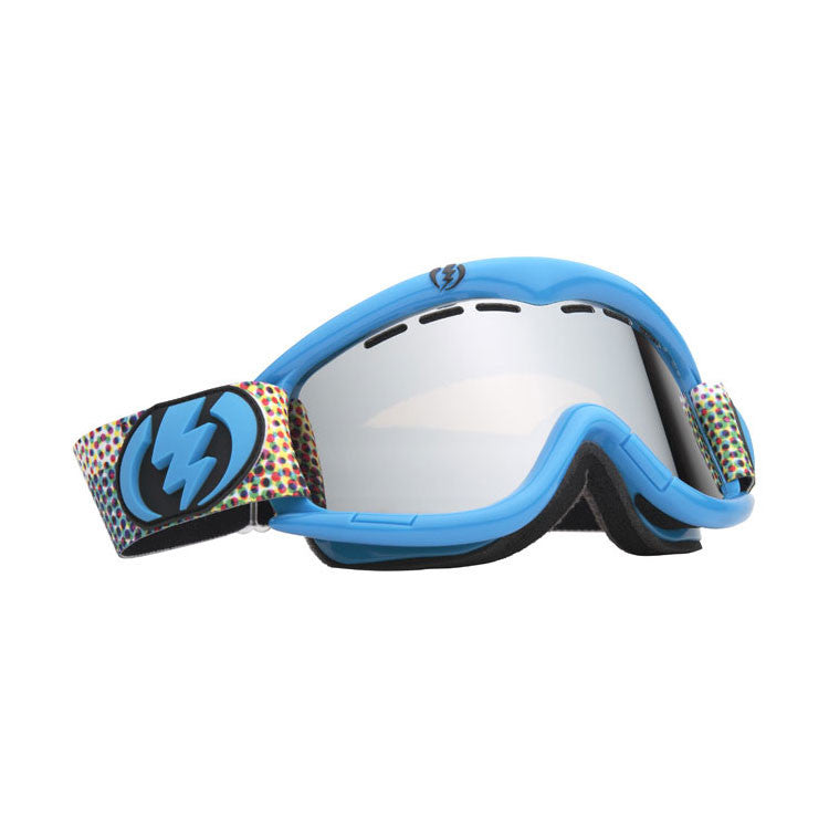 Electric EG1 2011 - Cyan Toned / Bronze Frame - Silver / Chrome Lens - Snowboard Goggles